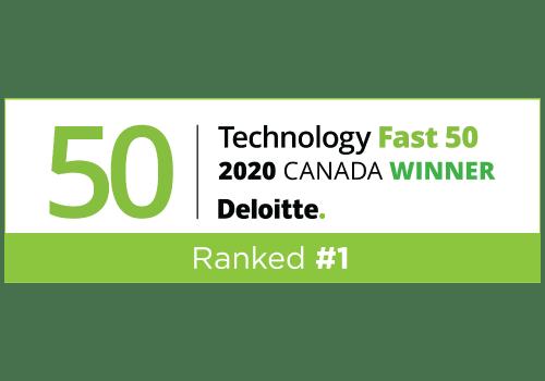 Deloitte Fast 50 Winner