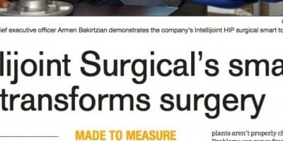 intellijoint Surgical's smart tool transforms surgery