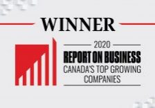 Winner of Canada's Top Growing Companies